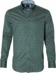 Jac Hensen Overhemd - Modern Fit - Groen - 5XL Grote Maten