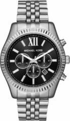 Michael Kors Horloge staal Lexington zilverkleurig-zwart MK8602