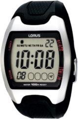 Zwarte Lorus R2327CX9 - Horloge - 40 mm - Kunststof - Zwart