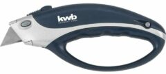 Professional trapezoidal blade carpet knife with closed handle, 170 mm kwb 013400