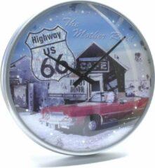 Nostalgic Art Merchandising The Mother Road - Wandklok - DIA 32cm