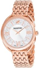 Roze Swarovski horloge Crystalline Glam 5452465 roségoudkleur