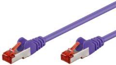 Goobay Intellinet ICOC CCA6F-020-VL - Cat 6 UTP-kabel - RJ45 - 2 m - Roze