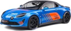 Blauwe Alpine A110 Cup #36 2019 - 1:18 - Solido
