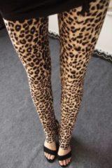 Witte Merkloos / Sans marque Legging met Print - One Size - Comfortabel & Sexy - Print 4