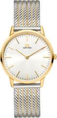 Gouden Danish Design watches edelstalen dameshorloge Akilia Two-Tone Mesh Medium IV65Q1251