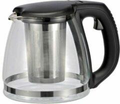 Transparante Haushalt Koffie- en theepotten 1,2 Liter - Met thee infuser