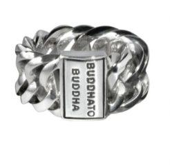 Buddha To Buddha Chain zilveren ring