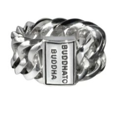 Buddha to Buddha Ring Chain Maat 19 zilver 500