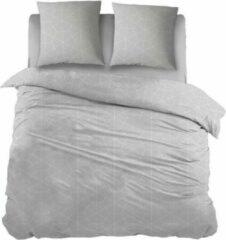 Snoozing Liam - Flanel - Dekbedovertrek - Tweepersoons - 200x200/220 cm + 2 kussenslopen 60x70 cm - Beige