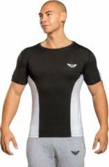 Aero wear Equinox - T-shirt - Zwart -Wit - XXL