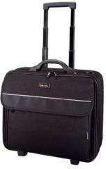 Zwarte Lightpak Business Laptop Overnight Trolley Treviso