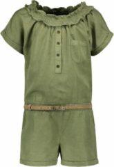 Groene Like Flo Unisex accessoires Like Flo Flo girls tencell jumpsuit army 128