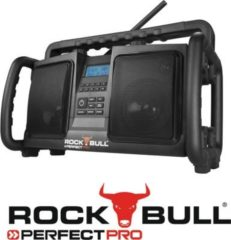 PerfectPro Rockbull Baustellenradio/Outdoorradio mit DAB+