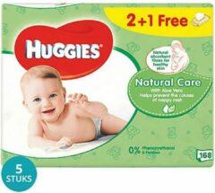 Huggies Billendoekjes Babydoekjes Natural Care Voordeelverpakking - 840 Stuks