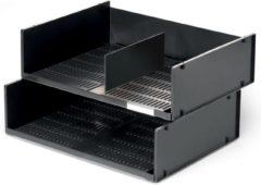 Durable brievenbak geschikt voor ft A3 of 2 x A4 zwart