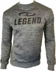 Legend Sports Sweater Heren Polyester Grijs Maat S