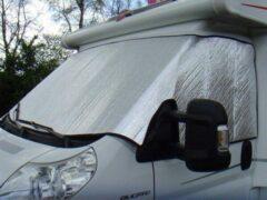 Witte Camperencaravanonderdelen Raamisolatie buitenzijde Opel Movano, Interstar,Master >1998 t/m 2010