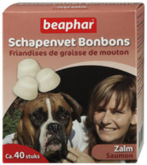 Beaphar Schapenvetbonbons Zalm - Hondensnacks - Medium