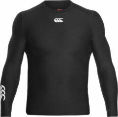Canterbury Thermoreg Longsleeve Top Sportshirt performance - Maat XL - Mannen - zwart