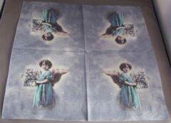 Sagen vintage design, Turkse engel papieren servetten
