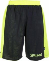 Spalding Essential Rev. Short Unisex - Zwart / Geel - maat L