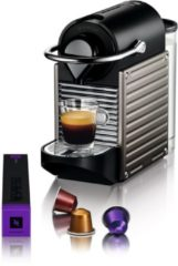 Donkergrijze Krups Pixie Nespresso machine XN3005