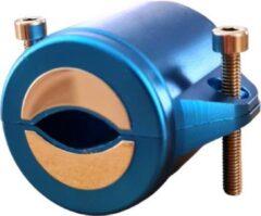 Blauwe FlowMag 2500 - Magneet WaterOntharder - 7500 Gauss