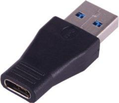 Transparante Superfunk.eu USB 3.0 naar USB-C / Type-C Male 3.1 vrouwelijke Connector Adapter