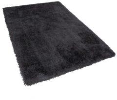 Zwarte Beliani Cide Vloerkleed Polyester 160 X 230 Cm