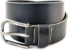 Cowboysbelt Heren Jeans riem 403001 - Zwart - 95 cm