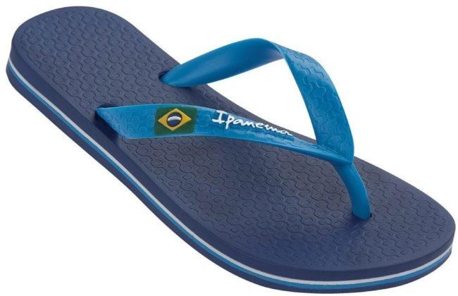 Afbeelding van Blauwe Ipanema Classic Brasil II Slipper Boys
