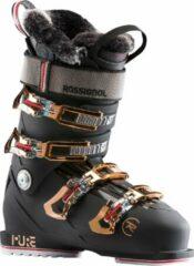 Zwarte Rossignol Pure Pro Heat RBJ 2200 dames skischoenen