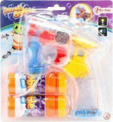 Toitoys Toi-toys Bellenblaaspistool Met Licht En Geluid Oranje 15 Cm