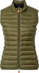 Save the Duck - Women's Anita Vest - Synthetische bodywarmer maat XL, olijfgroen