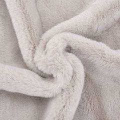 VidaXL Dekentje 100x150 cm kunstkonijnenbont grijs