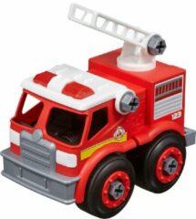 Rode Nikko Toys Nikko - Machine Maker Auto City Service: brandweerwagen 9-delig