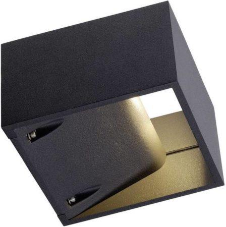 Afbeelding van Buiten LED-wandlamp 6 W Warm-wit Antraciet SLV Logs Wall 232105