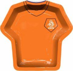 "Oranje Holland ""Bord T-shirt vorm KNVB, 8 st."""