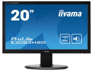 Iiyama LED-Monitor ProLite E2083HSD-B1 Iiyama Schwarz