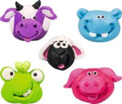 Brunnen Boetseerklei-gum-set Funny Animals Junior 7-delig