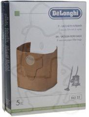 Delonghi Staubsaugerbeutel (Papier 5 Stück) für Staubsauger 5519110531