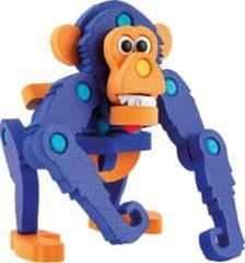 Toitoys Toi-toys Knutselpuzzel Aap Junior 25,8 Cm Blauw 59-delig