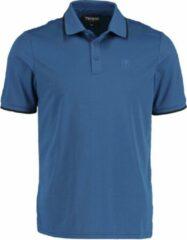 Blauwe Tenson 5016900 Polo met korte mouwen - Maat L - Heren