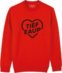 Rode Cheaque TIEF EAUP SWEATER