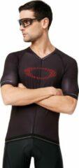 Zwarte Oakley ●86% Polyester ●14% Elastane ●86% Polyester ●14% Elastane Unisex T-shirt Maat XL