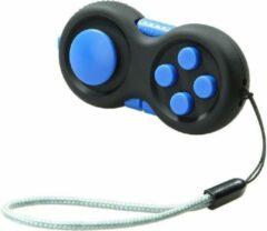 Fidget pad - Calm pad - Tik tok - Fidget cube - Pop it - Friemelkubus - Fidget toys - Fidget toy - Simple dimple - Antistress - Speelgoed - Stress verlagend - Joystick - Gratis koord - Blauw