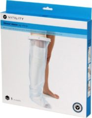 Transparante Vitility Shower Sleeve - Leg Whole