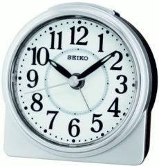 Witte Seiko wekker met electronisch piep alarm - QHE137S
