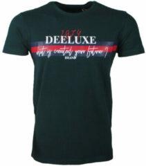 Groene Deeluxe - Heren T-Shirt Model Drake - Forest